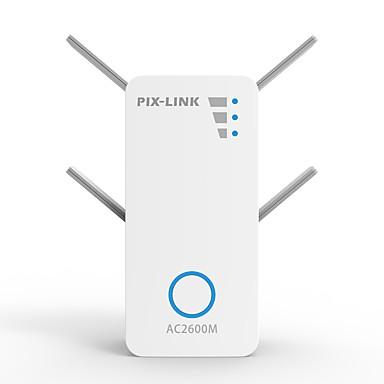 olcso Hálózatok-litbest 2600mbps hz / 2,4 hz vezeték nélküli ac kettős sávos repeater / ap / routerek lv-ac10