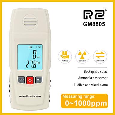rz 8805 mjerač ugljičnog monoksida co detektor curenja analizator analizator visoke preciznosti plin monitor 1000ppm gm8805 ručni lcd tester