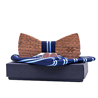 cheap Men's Bow Ties-Men's Basic Bow Tie - Striped