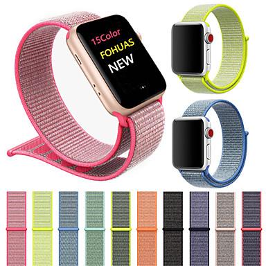 حزام إلى Apple Watch Series 4/3/2/1 Apple عصابة الرياضة نايلون شريط المعصم