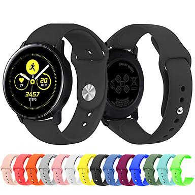 Недорогие Часы для Samsung-Ремешок для часов для Gear Sport / Samsung Galaxy Watch 42 / Samsung Galaxy Active Samsung Galaxy Спортивный ремешок силиконовый Повязка на запястье