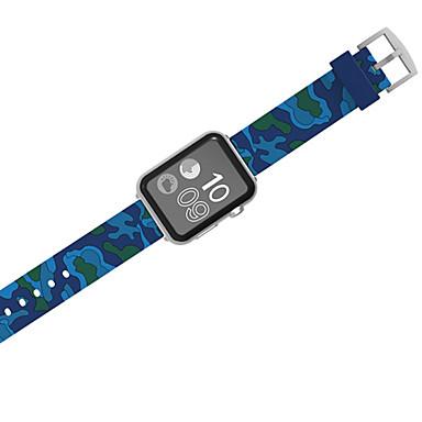 رخيصةأون أساور ساعات هواتف أبل-حزام إلى Apple Watch Series 4/3/2/1 Apple بكلة كلاسيكية سيليكون شريط المعصم