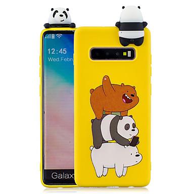 voordelige Galaxy S-serie hoesjes / covers-hoesje Voor Samsung Galaxy S9 / S9 Plus / S8 Plus Patroon Achterkant Cartoon Zacht TPU