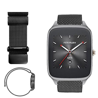 cheap Watch Band for ASUS-Watch Band for Asus ZenWatch 2 / Asus ZenWatch Asus Sport Band / Milanese Loop Stainless Steel Wrist Strap