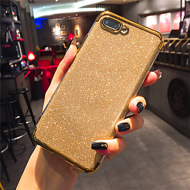 voordelige Huawei Mate hoesjes / covers-hoesje Voor Huawei Mate RS Porsche Design / Mate 10 / Mate 10 pro Beplating / Glitterglans Achterkant Transparant / Glitterglans Zacht TPU / Mate 9 Pro