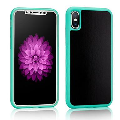 Недорогие Кейсы для iPhone 6-Кейс для Назначение Apple iPhone X / iPhone 8 Pluss / iPhone 8 Защита от удара Кейс на заднюю панель Однотонный Мягкий ТПУ