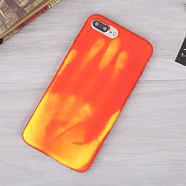 voordelige iPhone-hoesjes-hoesje Voor Apple iPhone XS / iPhone XR / iPhone 8 Plus Waterbestendig Achterkant Geometrisch patroon Zacht TPU