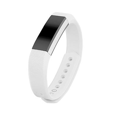 Недорогие Аксессуары для смарт-часов-Ремешок для часов для Fitbit Alta Fitbit Классическая застежка силиконовый Повязка на запястье