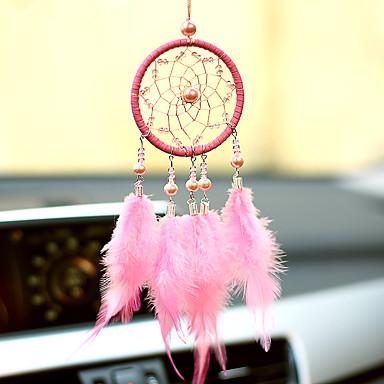 olcso Fali dekor-kézzel készített álom fogók tollfal lógó lakberendezési dísz dekor dísz
