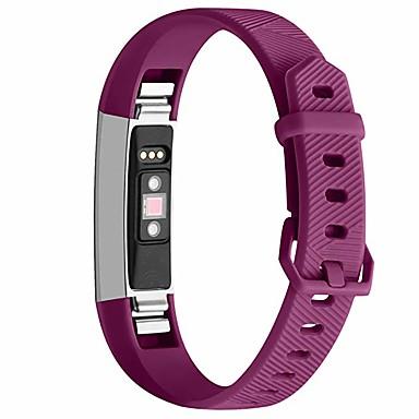 Недорогие Аксессуары для смарт-часов-Ремешок для часов для Fitbit Alta HR Fitbit Классическая застежка силиконовый Повязка на запястье