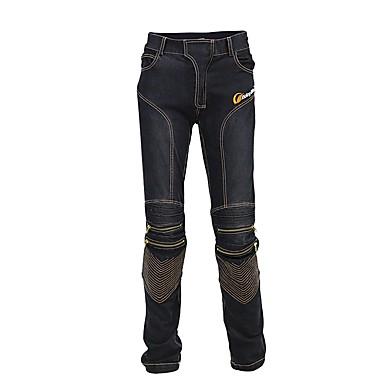 voordelige Beschermende uitrusting-rijbroek heren motorfiets jeans slim fit beschermende motorcross broek motorracen ademende stretch bikerbroek