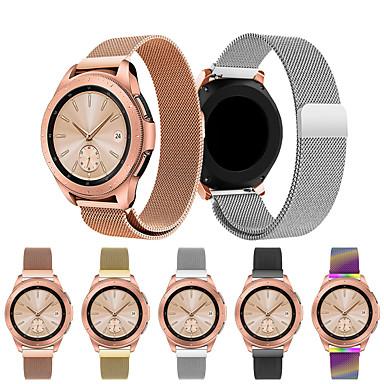 Недорогие Часы для Samsung-Ремешок для часов для Samsung Galaxy Watch 42 Samsung Galaxy Спортивный ремешок / Миланский ремешок Нержавеющая сталь Повязка на запястье