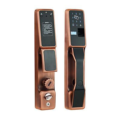 olcso Beléptető rendszerek-5YOA FPLock02 Lakat / Kulcsszóval levédett / Beléptető rendszer beállítása RFID / Alacsony akkumulátor figyelmeztetés / Jegyezze fel a lekérdezést Ujjlenyomat / Jelszó / Személyazonossági igazolvány