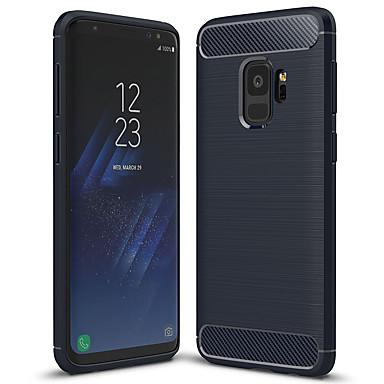 voordelige Galaxy S-serie hoesjes / covers-hoesje Voor Samsung Galaxy S9 Mat Achterkant Effen Zacht TPU