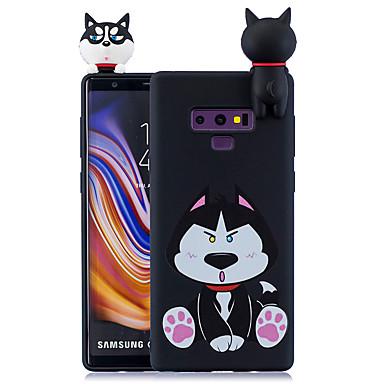 voordelige Galaxy Note-serie hoesjes / covers-hoesje Voor Samsung Galaxy Note 9 / Note 8 Patroon Achterkant Cartoon Zacht TPU