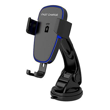 Недорогие Новые поступления-беспроводное автомобильное зарядное устройство, автоматическое крепление ци автомобильное крепление для быстрой зарядки, держатель на приборной панели ветрового стекла