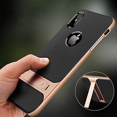 Недорогие Чехлы и чехлы-чехол для яблока iphone xr xs max с подставкой противоударная задняя крышка сплошного цвета жесткий тпу xs x 8 плюс 8 7 плюс 7 6s плюс 6s 6 плюс 6