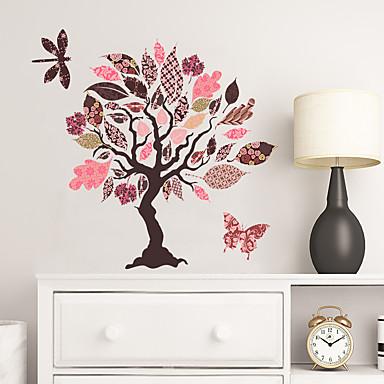 لواصق حائط مزخرفة - لواصق حائط الطائرة الأزهار / النباتية غرفة الجلوس / غرفة النوم / مطبخ
