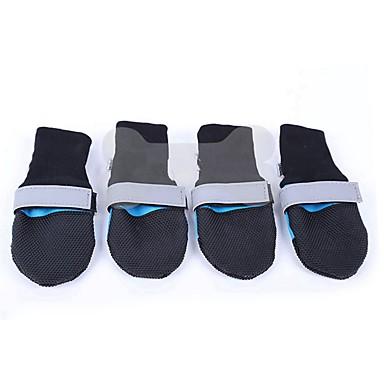 povoljno Odjeća za psa i dodaci-Male krznene životinje Čarape Jednokratna navlaka za cipele Jedinstven dizajn Jednobojni Za kućne ljubimce Terilen Fuksija