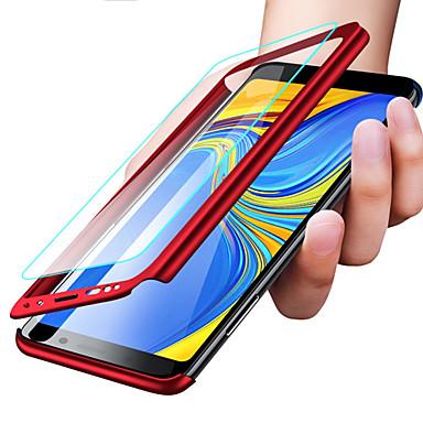 غطاء من أجل Samsung Galaxy S9 / S9 Plus / S8 Plus ضد الصدمات / نحيف جداً / مثلج غطاء كامل للجسم لون سادة قاسي الكمبيوتر الشخصي