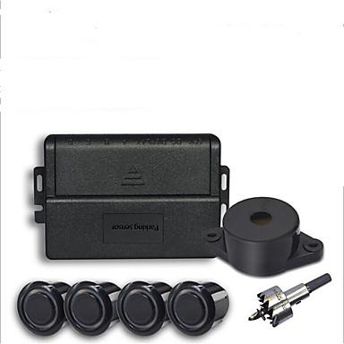Недорогие Камеры заднего вида для авто-Датчик парковки автомобиля с 4 датчиками зуммер 22 мм комплект обратного резервного копирования радар звуковой сигнал тревоги зонд системы 12 В