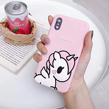 voordelige iPhone-hoesjes-hoesje Voor Apple iPhone XS / iPhone XR / iPhone XS Max Schokbestendig / Stofbestendig / Ultradun Achterkant Hond Hard PC / DHZ