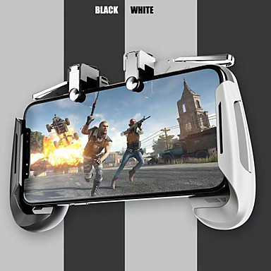 cheap Video Game Accessories-AK16 Pubg Mobile Gamepad Pubg Controller for Phone L1R1 Grip with Joystick/Trigger L1r1 Pubg Fire Buttons for iPhone Android IOS