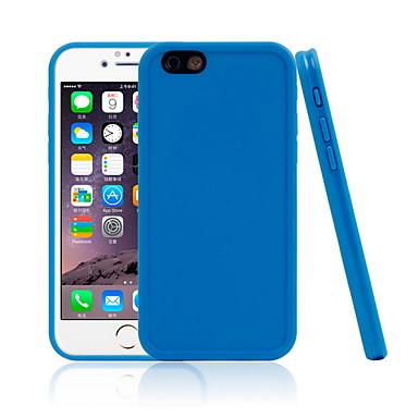 Недорогие Кейсы для iPhone X-Кейс для Назначение Apple iPhone X / iPhone 8 Pluss / iPhone 8 Водонепроницаемый Кейс на заднюю панель Однотонный Мягкий ТПУ