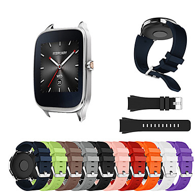 cheap Watch Band for ASUS-Watch Band for Asus ZenWatch 2 / Asus ZenWatch Asus Sport Band Silicone Wrist Strap