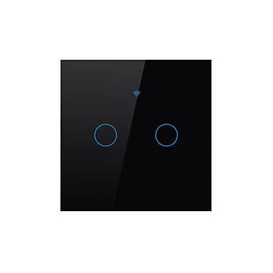 olcso smart Switch-SESOO Smart Switch mert Napi / Nappali / Hálószoba Vízálló / Smart / APP vezérlés WIFI 100-240 V