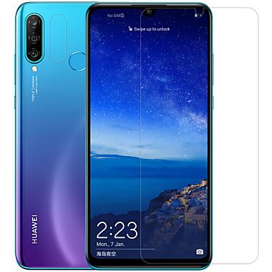 olcso Huawei képernyővédők-HuaweiScreen ProtectorHuawei P30 Lite High Definition (HD) Elülső és fényképezőgép objektívvédő 1 db Edzett üveg