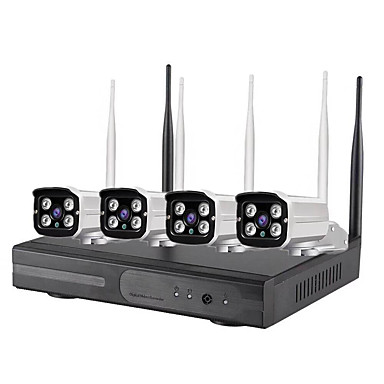 olcso IP kamerák-sunsee Digital K8204W-PE2010K 2 mp IP kamera Szabadtéri Támogatás 4 GB