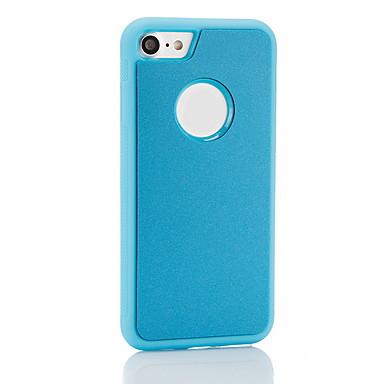 voordelige iPhone 5 hoesjes-hoesje Voor Apple iPhone 8 / iPhone 7 Plus / iPhone 7 Schokbestendig Achterkant Effen Zacht TPU