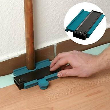 povoljno Oprema za testiranje, mjerenje i inspekciju-5inch kontura profil mjerač pločica laminatne pločice ruba oblikovanje drva mjera vladar ABS konture mjerač duplikator