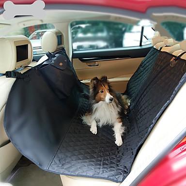 olcso Kutya Tartás és ápolás-Kutyák Macskák Autós üléshuzat Egészségügy Házi kedvencek Hordozók Hordozható Utazás Összecsukható Egyszínű Fekete Bézs Szürke