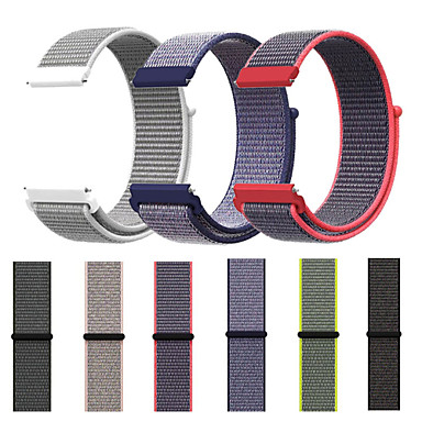 Недорогие Часы для Samsung-Ремешок для часов для Gear Sport / Gear S2 / Gear S2 Classic Samsung Galaxy Спортивный ремешок Нейлон Повязка на запястье