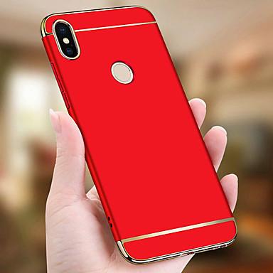 Недорогие Чехлы и кейсы для Xiaomi-Кейс для Назначение Xiaomi Xiaomi Mi 8 / Xiaomi Mi 8 Lite / Xiaomi Mi 6X(Mi A2) Защита от удара / Покрытие / Ультратонкий Чехол Однотонный Твердый ПК