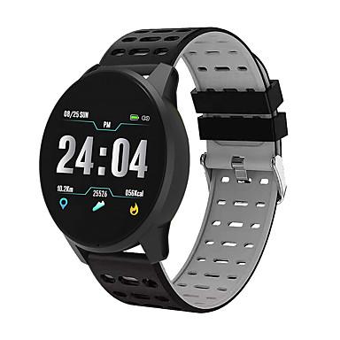 رخيصةأون ساعات ذكية-B2 للجنسين smartwatch الروبوت ios بلوتوث للماء شاشة اللمس القلب رصد معدل ضغط الدم قياس الرياضة ساعة توقيت عداد الخطى دعوة تذكير نشاط المقتفي النوم المقتفي