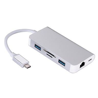 olcso Kábelek & adapterek-OTG / C típusú Adaptor / Kábel <1m / 3ft OTG Műanyag és fém / ABS + PC USB kábeladapter Kompatibilitás Macbook