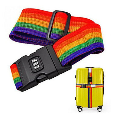 olcso Biztonságos utazás-Utazótáska / Bőröndheveder / Biztonsági övcsat Állítható / Tartós Műanyag 200*5 cm cm