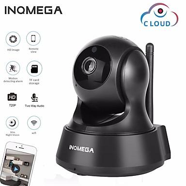 رخيصةأون كاميرات المراقبة IP-inqmega 720 وعاء 1mp ptz ip كاميرا لاسلكية سحابة التخزين wifi كاميرا مراقبة الأمن المنزل 3.6 ملليمتر الذكية wifi كاميرا كشف الحركة اتجاهين الصوت للرؤية الليلية الهاتف رصد التطبيق
