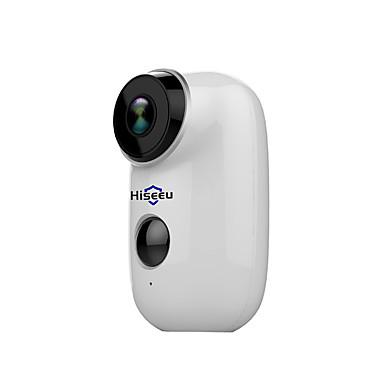Hiseeu hiseeu 100 ٪ خالية من الأسلاك بطارية قابلة للشحن الدوائر التلفزيونية المغلقة واي فاي كاميرا IP في الهواء الطلق IP65 مانعة لتسرب الماء أمن الوطن كاميرا البير التنبيه 15 النائب كاميرا IP دعم