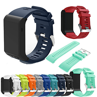 voordelige Smartwatch-accessoires-Horlogeband voor VivoActive HR Garmin Sportband / DHZ Gereedschap Silicone Polsband