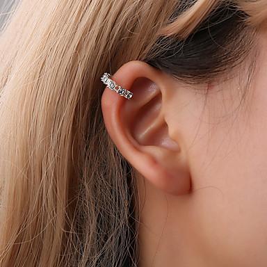 olcso Klipsz fülbevalók-Női Klipszes fülbevalók Fülbevaló Ékszerek Arany / Ezüst Kompatibilitás Diákbál Utca Bár 1db