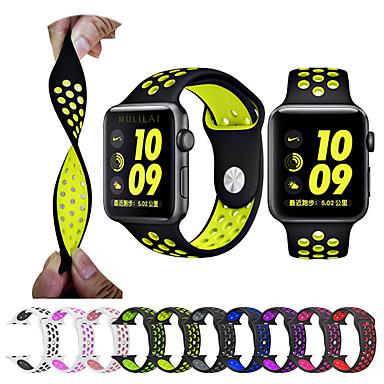 สายนาฬิกา สำหรับ Apple Watch Series 4/3/2/1 Apple สายยางสำหรับเส้นกีฬา ยางทำจากซิลิคอน สายห้อยข้อมือ