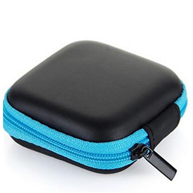 olcso Fejhallgató tartozékok-Fejhallgató hordtáska minimalista stílusú Sony Apple Airpods Samgsung Galaxy rügyek AKG Karcálló PU bőr