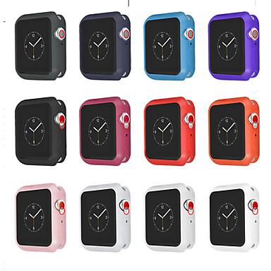 voordelige Smartwatch-hoezen-tpu beschermhoes serie 4 3 2 1 voor apple watch 44 mm 40 mm 38 mm 42mm kleurrijke cover shell