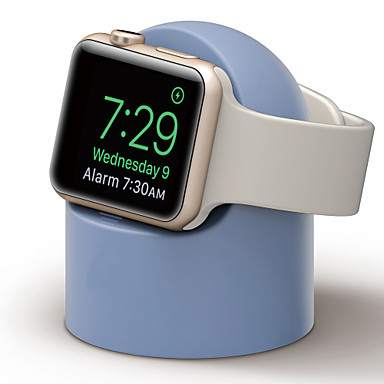 Недорогие Крепления и держатели для Apple Watch-Apple Watch Новый дизайн силикагель Стол