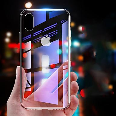 voordelige iPhone-hoesjes-hoesje Voor Apple iPhone XS / iPhone XR / iPhone X Spiegel Achterkant Effen Hard Gehard glas