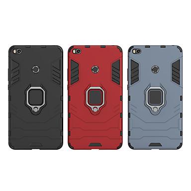 رخيصةأون Xiaomi أغطية / كفرات-غطاء من أجل Xiaomi Xiaomi Mi Play / Xiaomi Mi Max 3 / Xiaomi Mi Max 2 ضد الصدمات / حامل الخاتم غطاء خلفي درع قاسي الكمبيوتر الشخصي / Xiaomi Mi 6